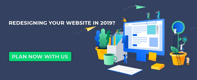 Redesigning your website in 2019?